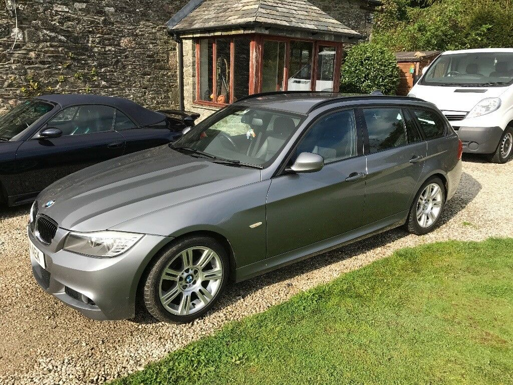 bmw 320d m sport touring 2010 10 full leather e91 msport estate in launceston cornwall. Black Bedroom Furniture Sets. Home Design Ideas