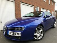 2008 08 Alfa Romeo Brera 2.2 JTS Petrol++Panoramic Roof++2 Owners++HTD LTHR not CLK coupe scirocco