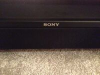 Sony TV stand and surround system
