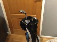 3 Dunlop Junior Golf Clubs
