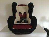 Mothercare forward facing sport car seat.