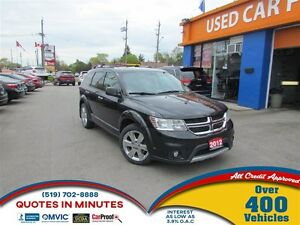 2012 Dodge Journey R/T | LEATHER | AWD | 7 PASSENGER