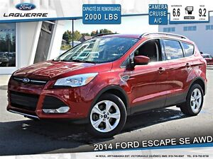2014 Ford Escape **SE*AWD*CAMERA*CRUISE*A/C**