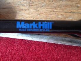 Mark Hill male ceramic straighteners