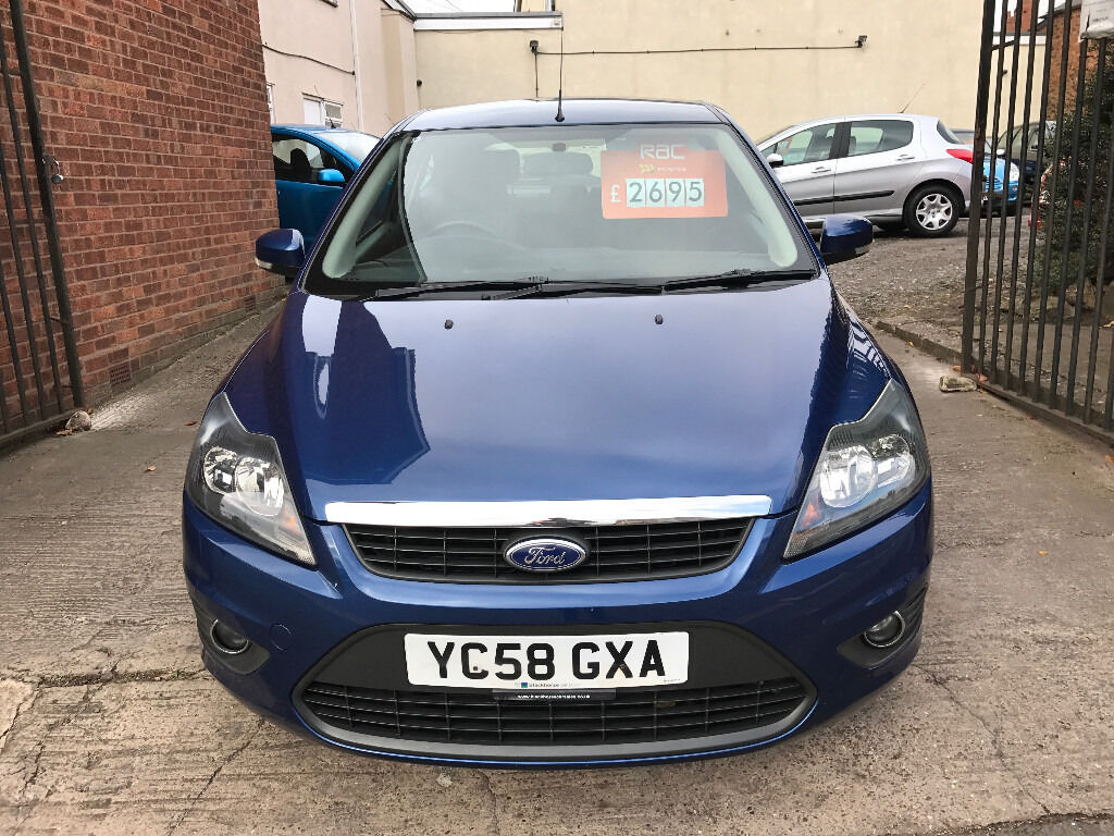 Ford Focus 1.8 TDCi Zetec 3dr - 2008 (58), 1 Lady Owner, MOT April 2017, 7 Services, 2 Keys, £2495