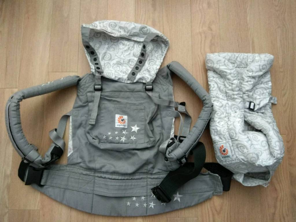 319fb3c7265 Ergobaby Original Carrier-Galaxy Grey with Infant Insert