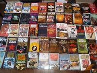 229 books total - 199 hardback, 30 paperback - 205 fiction, 24 non-fiction