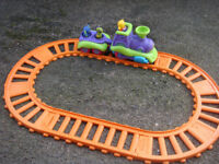 TOY TRAIN AND TRACK