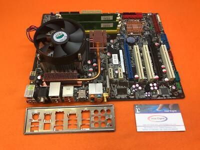 Scheda Madre PC ASUS P5K - E WiFi ATX Socket LGA 775 + 4 Gb (1Gb*4) + Quad Q6600