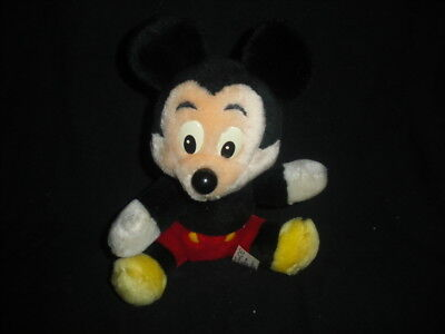 Vintage Micky Mouse Plush Soft Cuddly Toy Exclusive to Walt Disney Company segunda mano  Embacar hacia Argentina