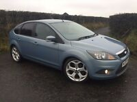 "2009 FORD FOCUS 1.8 TDCI ZETEC 115 BHP 18"" ST ALLOYS PRIVACY AIR CON FINANCE AVAILABLE MAY PART X"