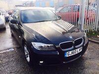 BMW 320 DIESEL MANUAL 2010 BLACK SALOON 6 SPEED