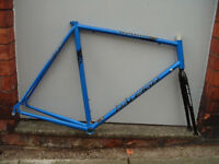 "Raleigh R200 road bike frame set 22.5"" and 4130 Chromoly"