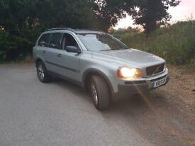 xc90 2.4 semi auto private plate 7 seats