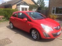 2012 Vauxhall Corsa 1.4 Excite, only 9k miles