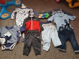Brand new boy clothes age 6-9 months