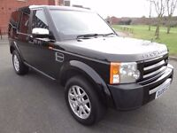 2008 Land Rover DISCOVERY 3 2.7 TD V6 GS 5dr DIESEL MANUAL FULL SERVICE HISTORY 7 SEATER