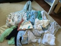 BABY BOY CLOTHES SIZE 0-3 MONTHS FOR SALE