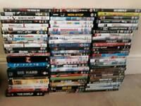 80 dvds some box sets some sealed