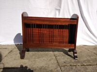 Magazine holder canterbury - vintage furniture