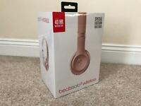 [NEW+SEALED] Apple Beats Solo 3 Wireless - Rose Gold (Special Edition)