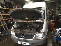 Mercedes Benz sprinter 313cdi spare parts