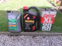 15 Litres of Engine oil