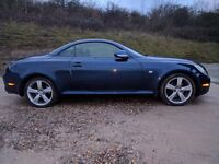 Convertible Lexus sc430 full history full leather part x swap possible try me.