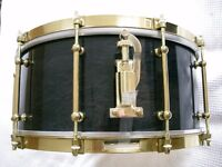 """WorldMax Vintage Classic maple-ply snare drum 14 x 6 1/2"""" - early model - CM6514 SFB"""