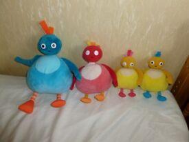 Twirlywoo toys set of 4 (they make noises)