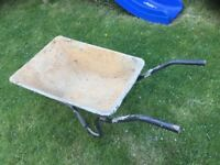 Wheelbarrow with Solid rubber tyre, puncture proof