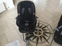Maxi cosi priorifix black car seat 9 months-3.5 years approx