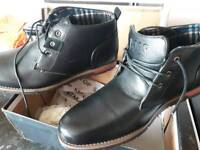 Mens hugo boss boots shoes size 8 brand new
