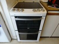Stylish Zanussi Cooker with Fan Oven