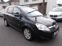 2008 Vauxhall Zafira 1.9cdti Design diesel 7 seat mpv high spec nice condition