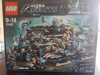 Rare Lego Ultra Agents Sets 100% complete from £15