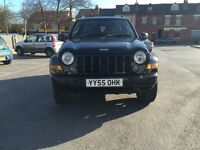 jeep cherokee limited crd 2.8 turbo diesel 2005 full serv history 12 months mot