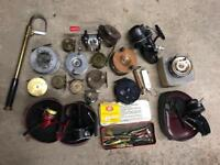 WANTED OLD FISHING ITEMS REELS TACKLE