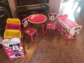 Minnie Mouse furniture set for children