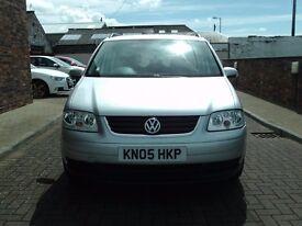2005 05 Volkswagen Touran 1.9TDI ( 7st ) SE ** 7 SEATER DIESEL **
