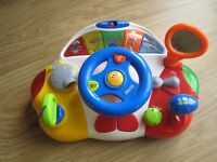 Steering wheel toy in great condition