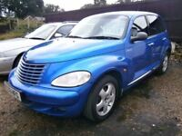 ** NEWTON CARS ** 03 53 CHRYSLER PT CRUISER 2.2 CRD, 5 DOOR, ATI, 94,000 MILES, MOT FEB 2018, CALL