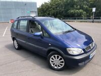 2003 VAUXHALL ZAFIRA 1.8L PETROL LONG MOT SERVICE HISTORY EXCELLENT CONDITION DRIVES AMAZING