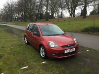 FORD FIESTA STYLY Miles only 55.578