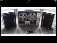 Sanyo stereo reel to reel tape recorder