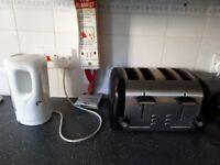 4 Slice Cookworks Toaster