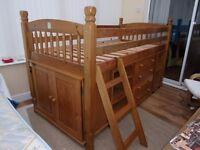 Julian Bowen Pine Cabin Bed