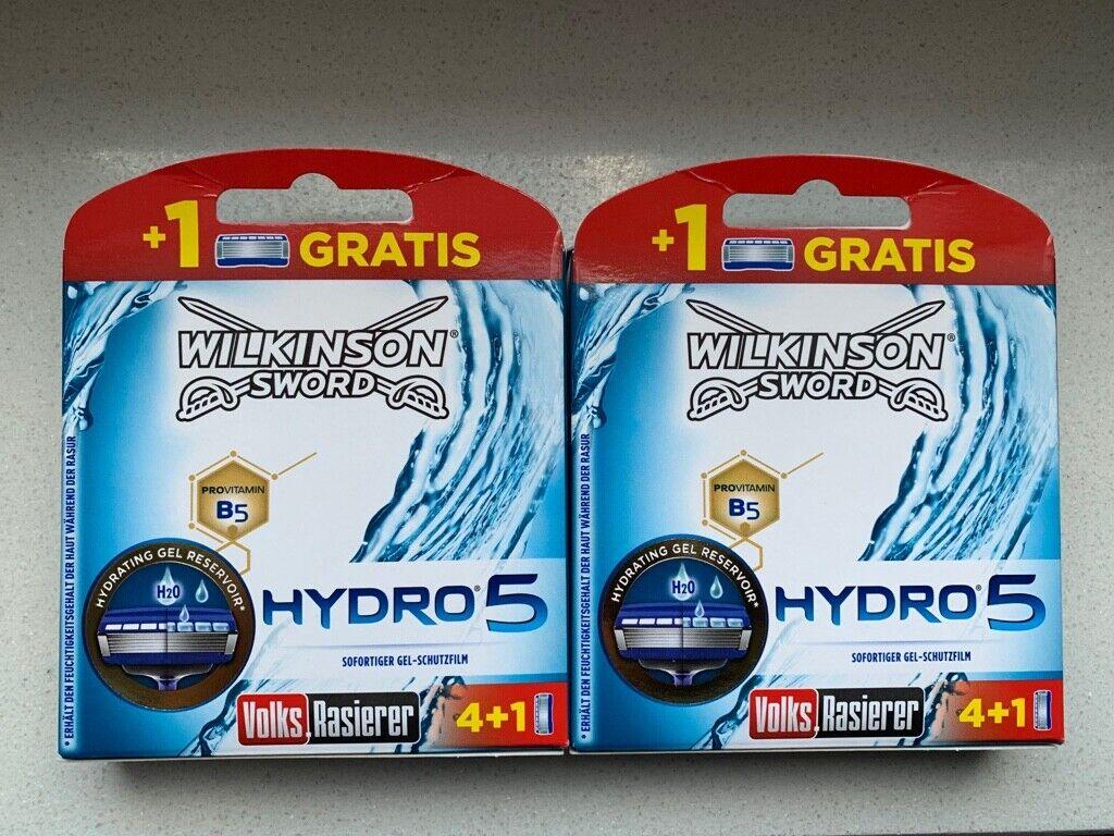 10 Wilkinson Sword Hydro 5 Rasierklingen Neu OVP