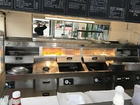 Fish and chips range takeway commercial catering hotels pubs kebab fish shop