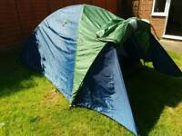 2 man double skinned tent